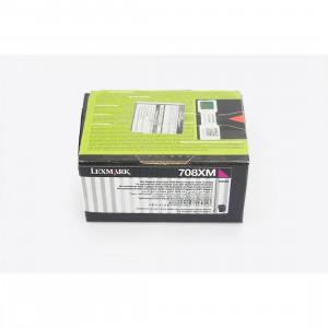 Toner Original Lexmark 708XK 70C8XM0 Magenta Com Garantia de 1 ano – Clubedoescritorio.com.br