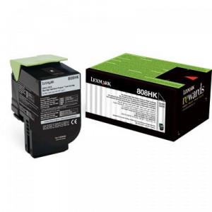 Toner Original Lexmark CX410 80C8HK0 Preto Com Garantia de 1 ano – Clubedoescritorio.com.br
