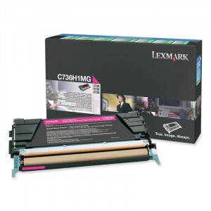Toner Original Lexmark C736H1MG C736dn Magenta – Clubedoescritorio.com.br
