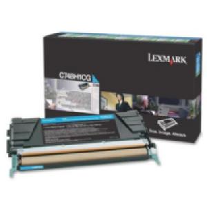 Toner Original Lexmark C748 C748H1CG Ciano Com Garantia de 1 ano – Clubedoescritorio.com.br