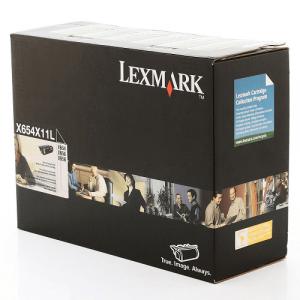 Toner X656 X654X11L / X654X11B  – Toner Lexmark x656de Original Preto