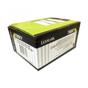 Toner Original Lexmark CS510 70C8XY0 Amarelo Com Garantia de 1 ano – Clubedoescritorio.com.br