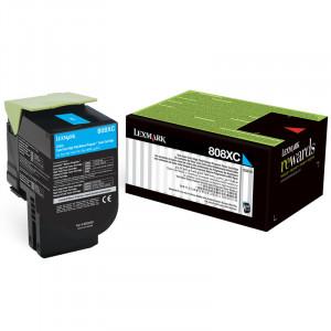 Toner Original Lexmark CX510 80C8XC0 Ciano Com Garantia de 1 ano – Clubedoescritorio.com.br
