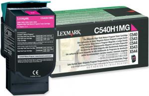 Toner Lexmark C540 C540H1MG C543 Original |Promoção 12x – Clubedoescritorio.com.br