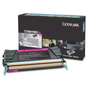 Toner Original Lexmark C748 C748H1MG Magenta Com Garantia de 1 ano – Clubedoescritorio.com.br