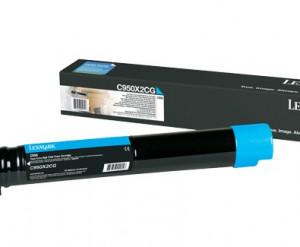 Lexmark C950 Ciano - Toner  C950X2CG C950de Original Promoção – Clubedoescritorio.com.br