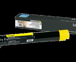 Toner Lexmark X950X2YG Amarelo Original Com Garantia de 1 ano – Clubedoescritorio.com.br