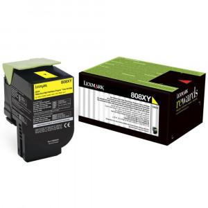 Toner Original Lexmark CX510 80C8XY0 Amarelo Com Garantia de 1 ano – Clubedoescritorio.com.br