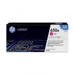 HP Toner  650A Magenta / Vermelho Original CP5525n - CE273A - HP 650A HP – Clubedoescritorio.com.br