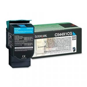 Toner Original C544dn Ciano - C544X1CG Lexmark - clubedoescritorio.com.br