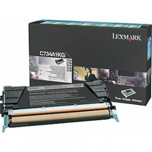Toner Original C734 Preto – C734A1KG Lexmark - clubedoescritorio.com.br