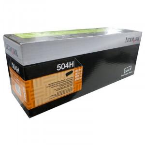 Toner 504H Original Lexmark 50F4H00 / 12x – Clubedoescritorio.com.br