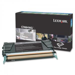 Toner Original Lexmark C746 C746H1KG Preto Com Garantia de 1 ano – Clubedoescritorio.com.br