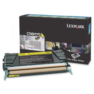 Toner Original Lexmark C748 C748H1YG Amarelo Com Garantia de 1 ano – Clubedoescritorio.com.br