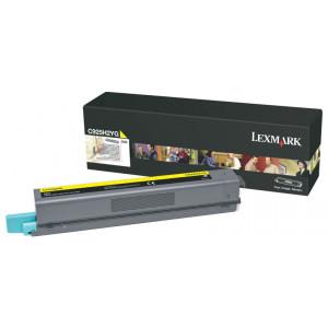 Toner Original Lexmark C925H2YG C925 C925de  7.500 Pgs – Amarelo – Clubedoescritorio.com.br