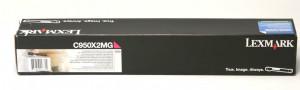 Lexmark C950 Magenta - Toner C950X2MG C950de Original | Em 12X – Clubedoescritorio.com.br